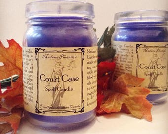 Court Case Spell Candle