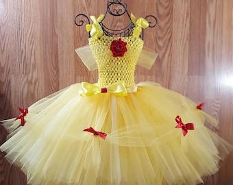 Yellow Ballgown - Belle Ballgown - Yellow Tutu Dress - Tutu Ballgown - Princess Ballgown