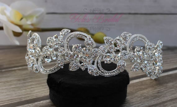 FAST SHIPPING!! Swarovski Headband, Bridal Hair Comb, Swarovski  Hair Comb, Crystal Hair Comb, Swarovski Hairband