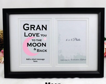 Personalised Grandma Typography Frame
