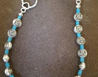 Silver Swirl Handmade Bracelet63
