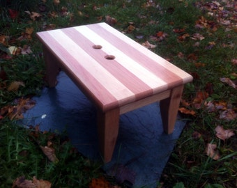 Hardwood Step Stool Very Sturdy