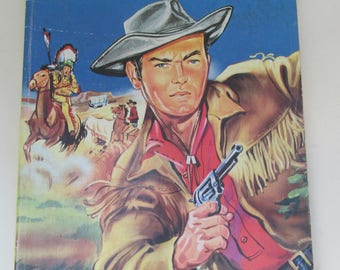 Vintage 1972 Wild West Fun Book - Painting Book/Colouring Book - 128 Pages of Fun