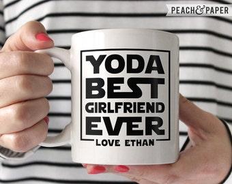 Personalized Girlfriend Gift From Boyfriend Girlfriend Christmas Gift for Girlfriend Anniversary Gift Star Wars Girlfriend Coffee Mug