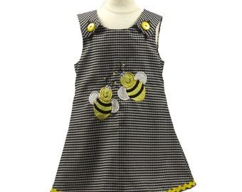 Girl dress. baby dress, toddler dress, girl outfit, aline dress, girl aline dress, baby girl dress, Girls Dress, A line dress