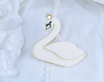 Odette Brooch (Swan Lake Inspired)