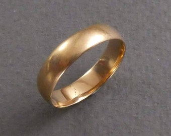 14K gold band size 6  #17
