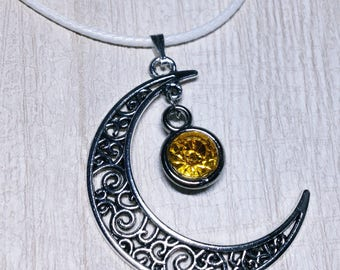 Artemis Crescent Moon Necklace