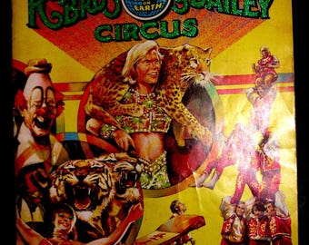 1979 Ringling Brothers, Barnum & Bailey The Greatest Show on Earth XLarge Program