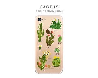 Cactus phone case Cactus iPhone case iPhone 8 plus case Cactus Oneplus 5T case Cactus iphone se case plant phone case iphone 6 plus case