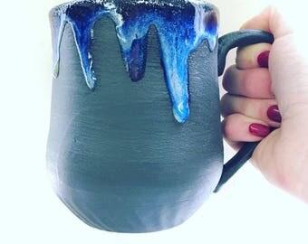 Mug - Blue Drip
