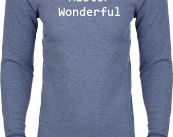 Men's Mister Wonderful Thermal Shirt WONDERFUL-N8201