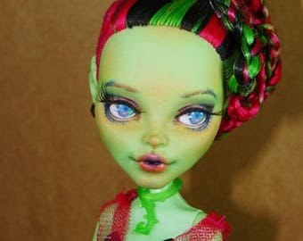 SALE!!! OOAK Repainted Monster High Venus McFlytrap Dolls