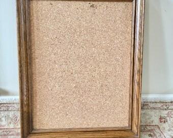 bulletin board cork board organizer wood frame large frame wall organizer framed bulletin board message board - Framed Cork Board