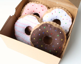Felt Donut/Donuts Doughnut/Doughnuts With Icing