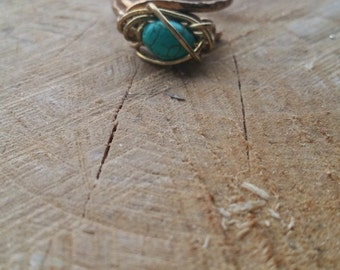 Handmade Crystal Ring