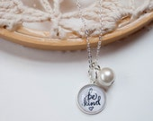 Add a Pearl to Any Necklace or Bracelet, Customize Your Jewelry, Personalized Pearl Necklace