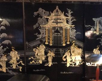 Oriental Screen ( four panels)