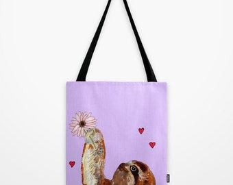 Sweet little Sloth Tote bag