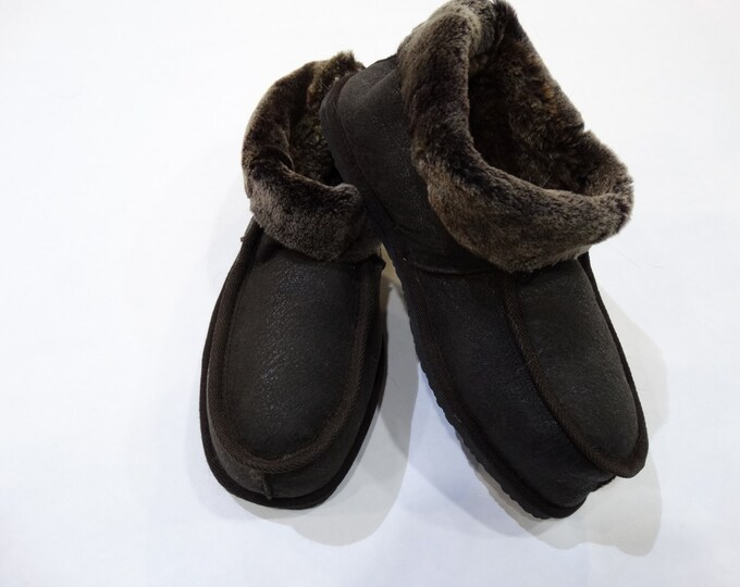 Warm Sheepskin Shoe - Slippers F454