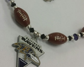 Baltimore Ravens Team Necklace