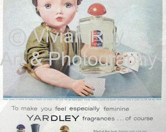 Madam Alexander Doll Advertises Beauty Products