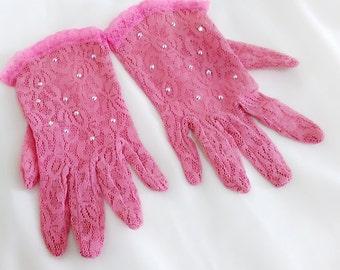 Girls gloves, Flower girl gloves, First Communion gloves, Easter gloves, Tea party gloves, Church gloves, Junior gloves, Little girls gloves