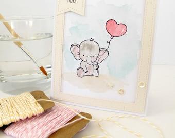 Handmade Card - I Love You