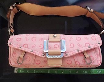 Guess G Pink Shoulder handbag