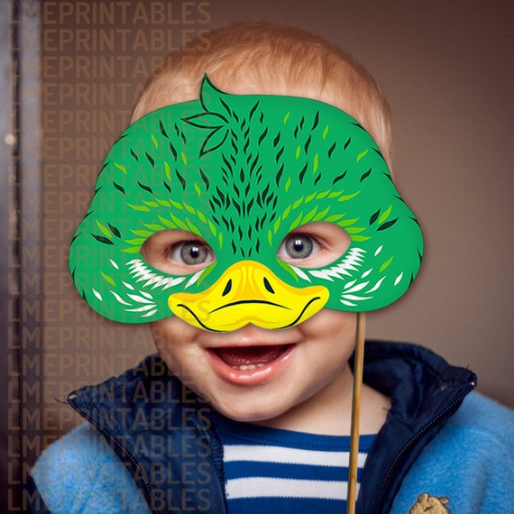 Easter Duck Mask 117