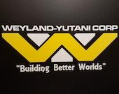Alien - Aliens - Weyland-Yutani Corp Two Tone Logo - Vinyl Decal