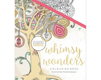 Kaisercraft KaiserColour Whimsy Wonders - Adult Coloring Books