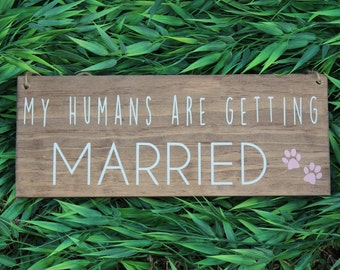 My Humans Are Getting Married- Large