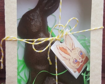 Chocolate Easter Bunny Soap