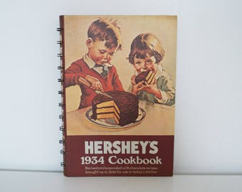 Vintage cookbook - Hershey's 1934 Cookbook - (1971 reprinting)