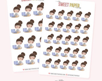 GIRL BOSS Planner Stickers - Claire