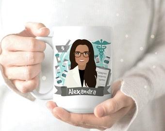 Pharmacy Student Mug - Pharmacist Mug - Pharmacy Gift - Personalized Gift for Pharmacist - Personalized Pharmacy Gift - Gift for Pharmacist