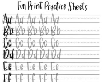 Crush image pertaining to printable hand lettering practice sheets
