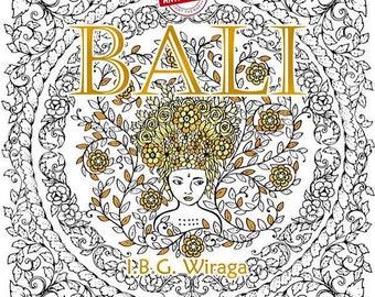 BALI Coloring Book by I.B.G. WIRAGA - Bali Colouring Book