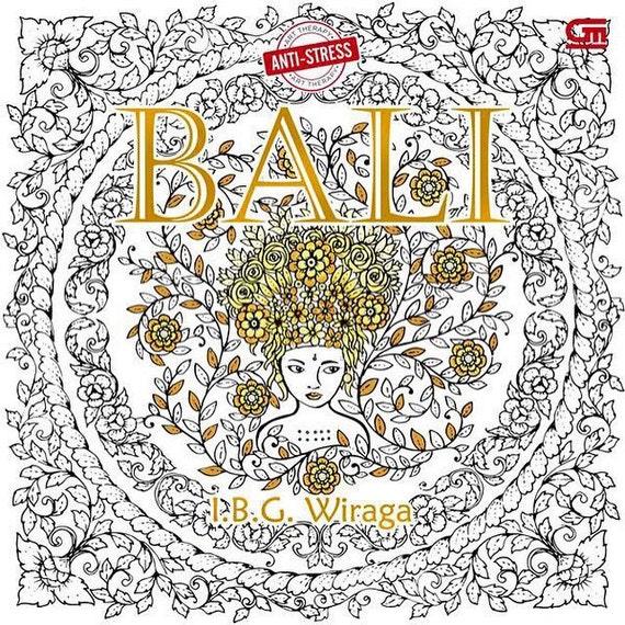 Bali coloring book by i b g wiraga bali colouring book Coloring book for adults gramedia