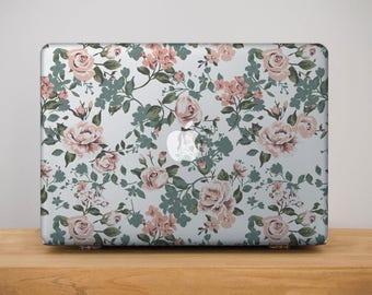 Floral Macbook Pro 15 Case Macbook 12 Cover for Laptop Macbook Pro 13 Case Mac Pro Retina 15 Case Macbook Pro Retina 13 Macbook Air MB_214
