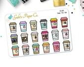 Tea Mini Planner Stickers {2162 Tea Mini}