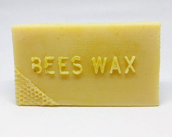 Pure Natural Beeswax 1lb bar