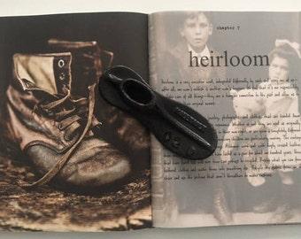 Antique Cast Iron Metal, Malleable Cobblers Shoe Form