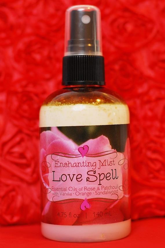 Rose water love spell