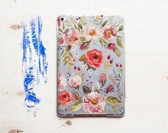 Florals iPad Case iPad Mini Case Flowers iPad Air Case iPad 9.7 2017 Case iPad Mini Case iPad Pro 12.9 Case iPad Cover iPad Mini CGPAD0043