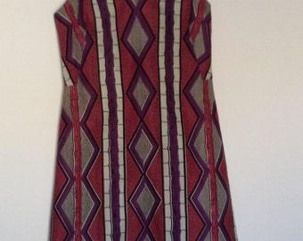 Dress with straps cut vintage wax Julius