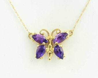 Amethyst Chain And Bracelet- 14k Yellow Gold