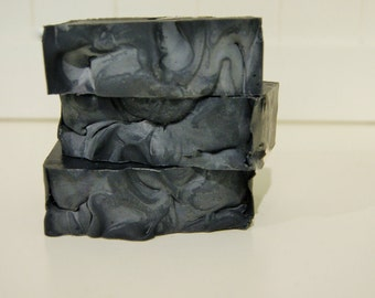 SALE!! Goat Milk Soap with Activated Charcoal, Acne Soap, Australian Handmade Soap, Shae Scentials, cocoa butter soap, natural soap