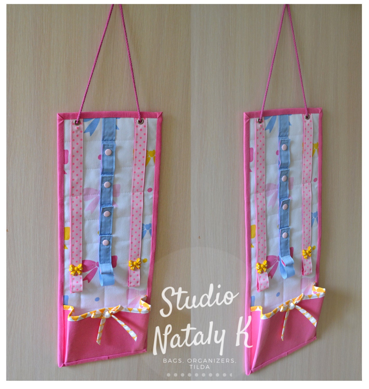 bright pink hair accessory organizer girl fabric headband. Black Bedroom Furniture Sets. Home Design Ideas